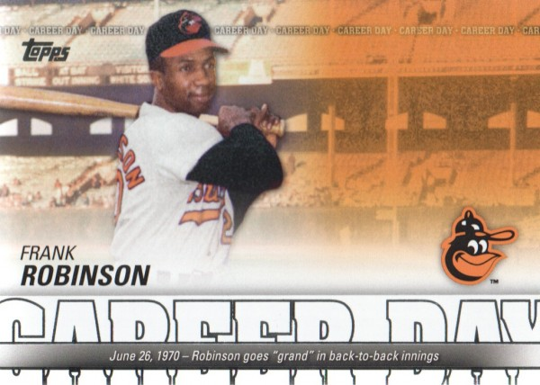 2012 Topps Career Day #CD7 Frank Robinson