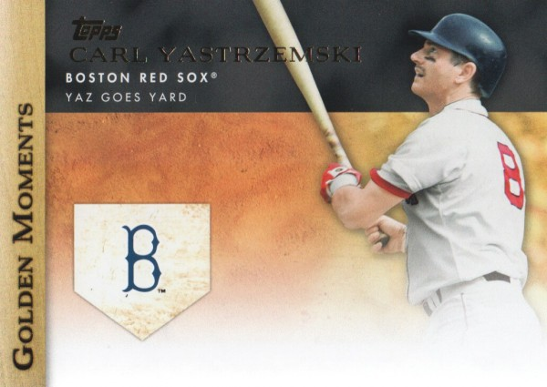 2012 Topps Golden Moments Series 2 #GM15 Carl Yastrzemski