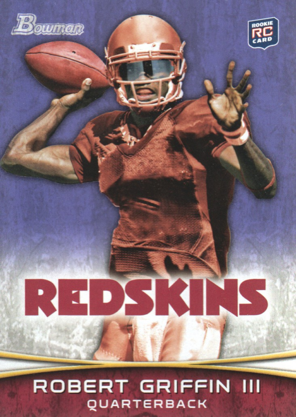 2012 Bowman Purple #200 Robert Griffin III