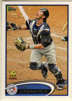 2012 Topps #207B J.P. Arencibia  VAR SP/Rookie Cup