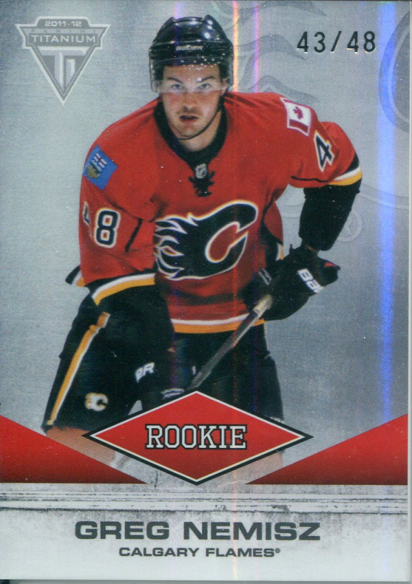 2011-12 Panini Titanium #136 Greg Nemisz/48 RC