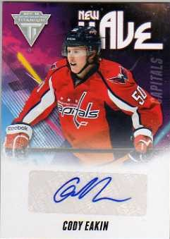 2011-12 Panini Titanium New Wave Autographs #5 Cody Eakin