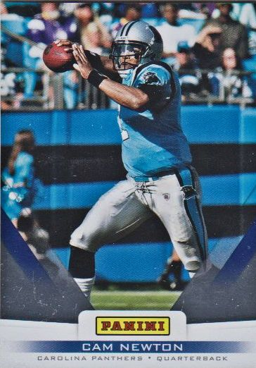 2012 Panini Father's Day #18 Cam Newton