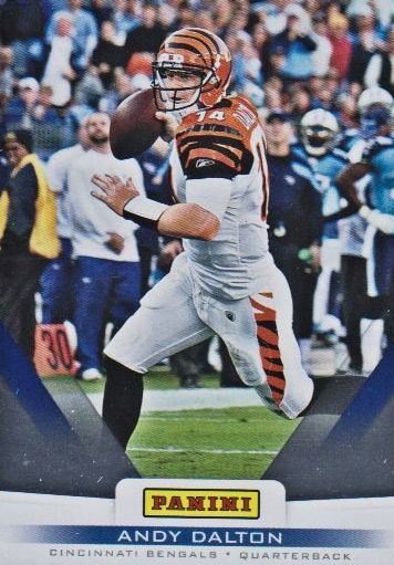 2012 Panini Father's Day #22 Andy Dalton