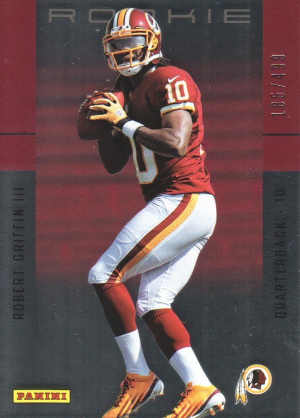 2012 Panini Father's Day Rookies #2 Robert Griffin III