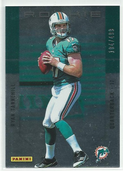 2012 Panini Father's Day Rookies #3 Ryan Tannehill