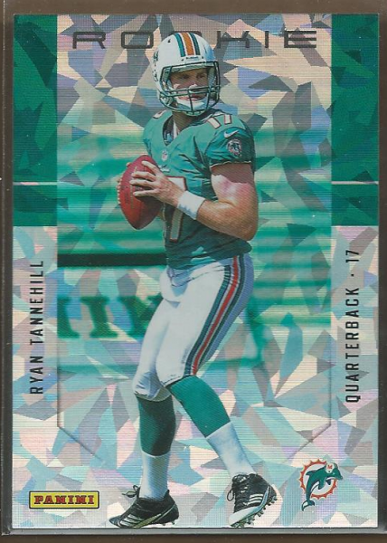 2012 Panini Father's Day Rookies Cracked Ice #3 Ryan Tannehill
