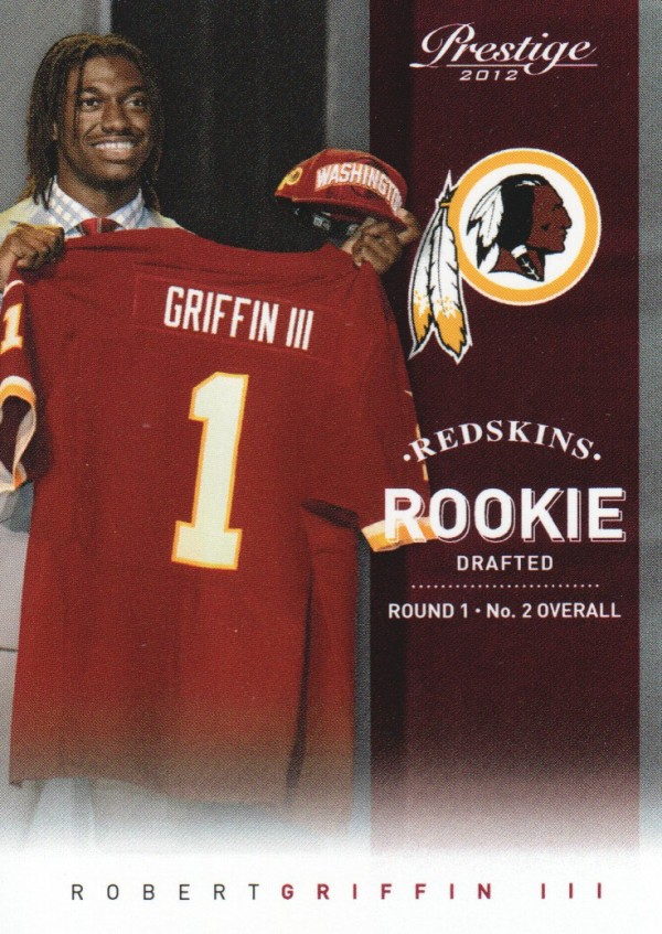 2012 Prestige #230B Robert Griffin III Draft SP