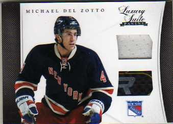 2011-12 Luxury Suite #35 Michael Del Zotto JSY STK