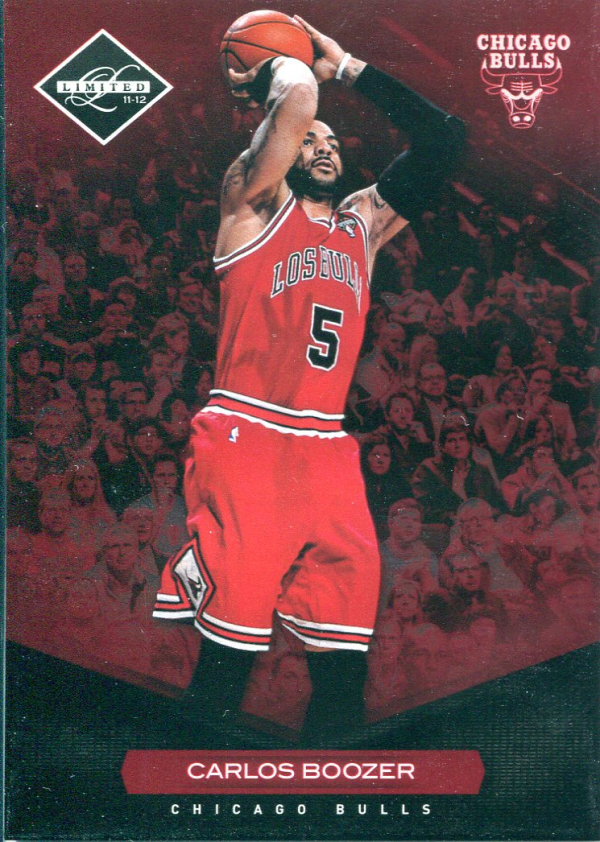 2011-12 Limited #96 Carlos Boozer