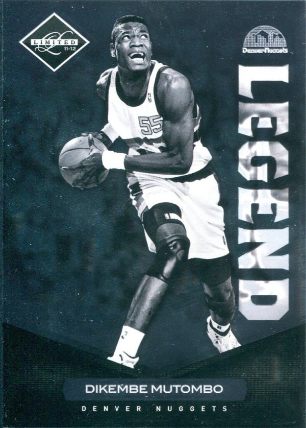 2011-12 Limited #152 Dikembe Mutombo