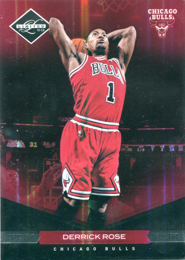2011-12 Limited Silver Spotlight #97 Derrick Rose