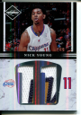 2011-12 Limited Jumbo Jersey Numbers Prime #14 Nick Young/25