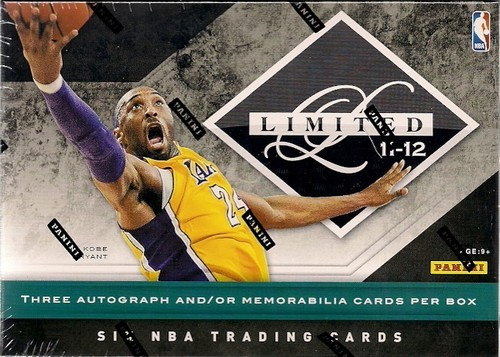 2011-12 Limited Basketball Hobby Box