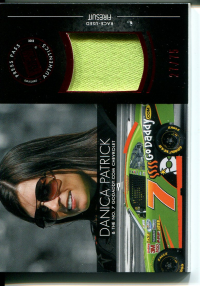 2012 Press Pass Redline Relics Red #RLDP2 Danica Patrick NNS/75 front image