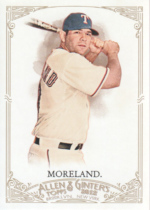 2012 Topps Allen and Ginter #8 Mitch Moreland