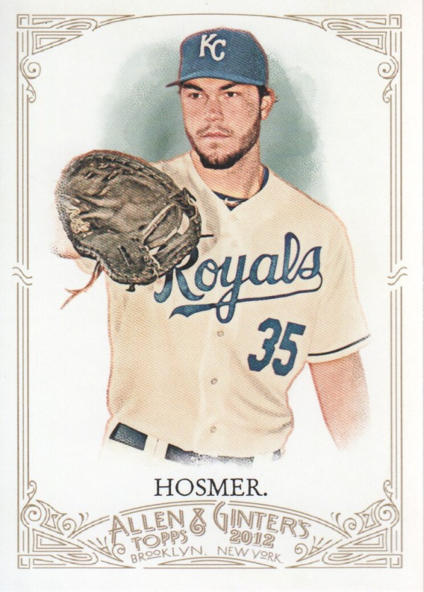 2012 Topps Allen and Ginter #11 Eric Hosmer