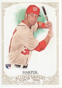 2012 Topps Allen and Ginter #12 Bryce Harper RC front image