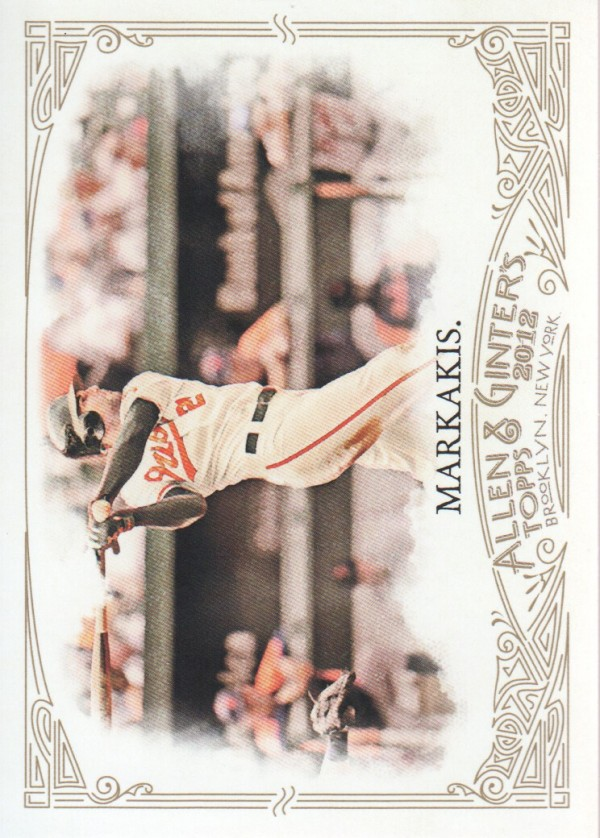 2012 Topps Allen and Ginter #14 Nick Markakis