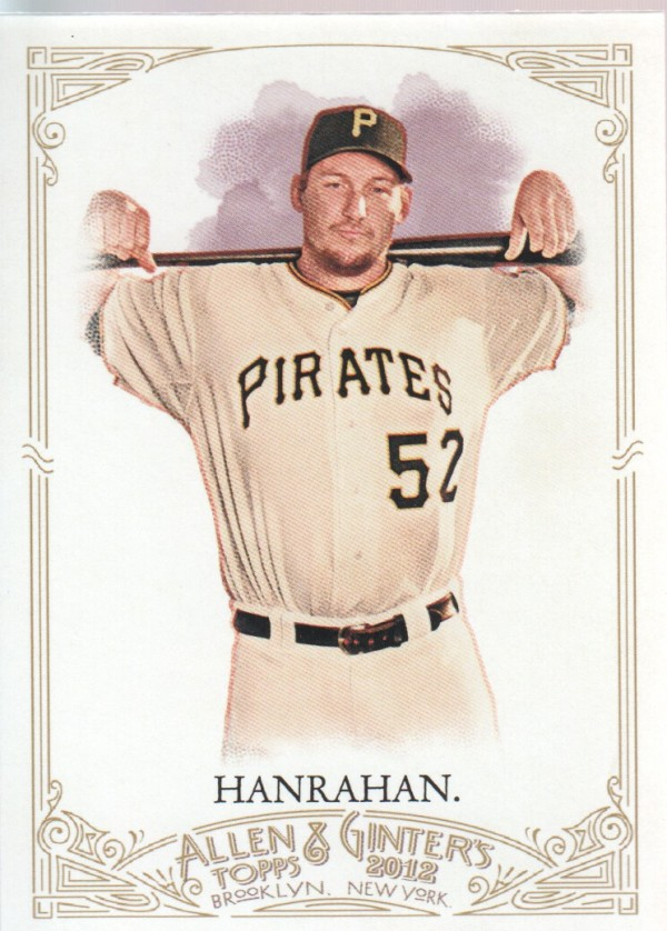 2012 Topps Allen and Ginter #15 Joel Hanrahan