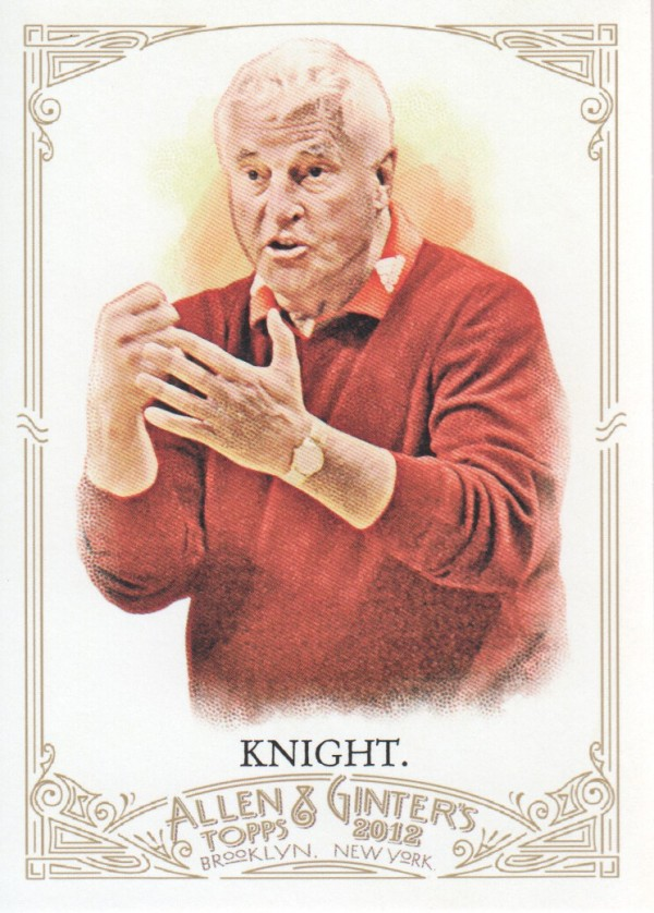 2012 Topps Allen and Ginter #19 Bob Knight