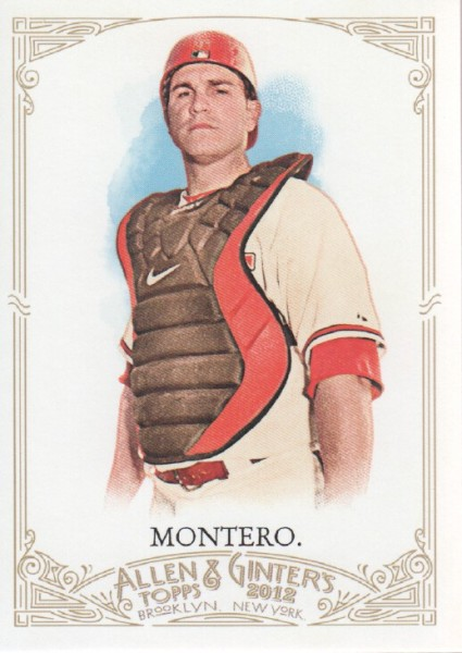 2012 Topps Allen and Ginter #20 Miguel Montero