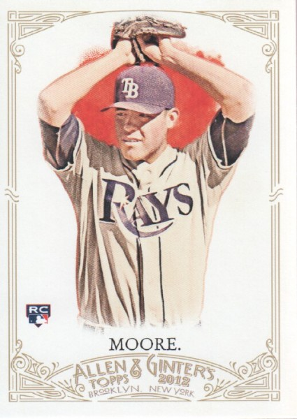 2012 Topps Allen and Ginter #21 Matt Moore RC
