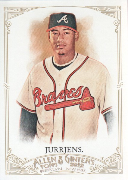2012 Topps Allen and Ginter #22 Jair Jurrjens