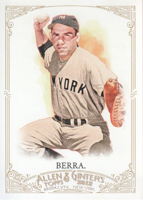 2012 Topps Allen and Ginter #23 Yogi Berra