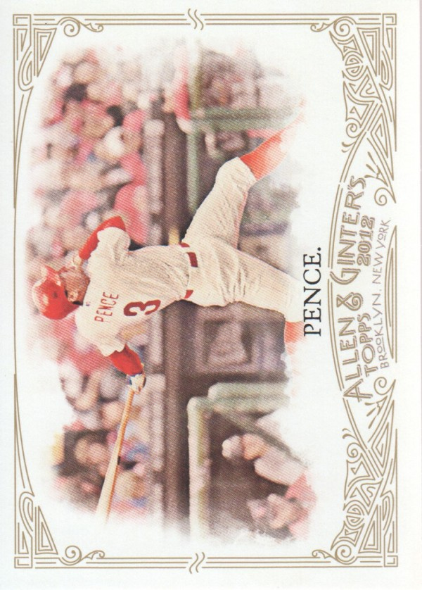 2012 Topps Allen and Ginter #26 Hunter Pence