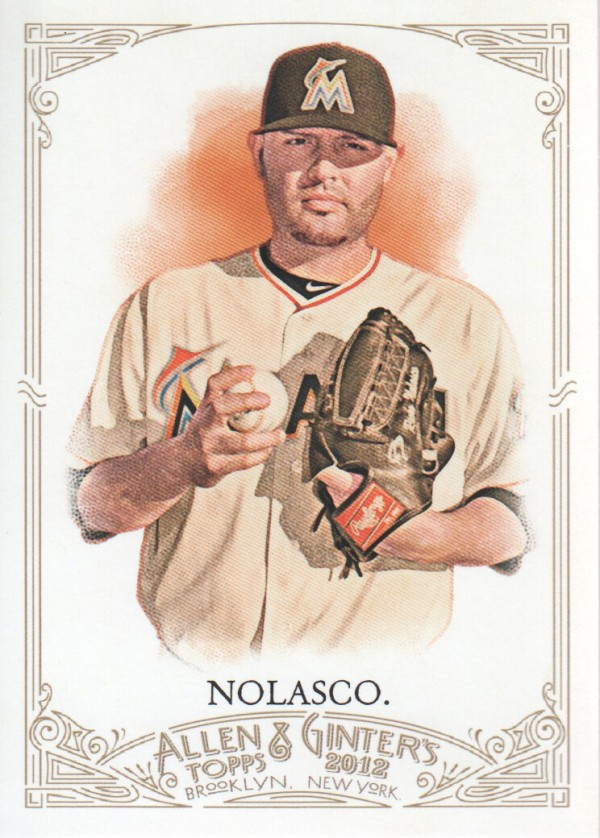 2012 Topps Allen and Ginter #27 Ricky Nolasco