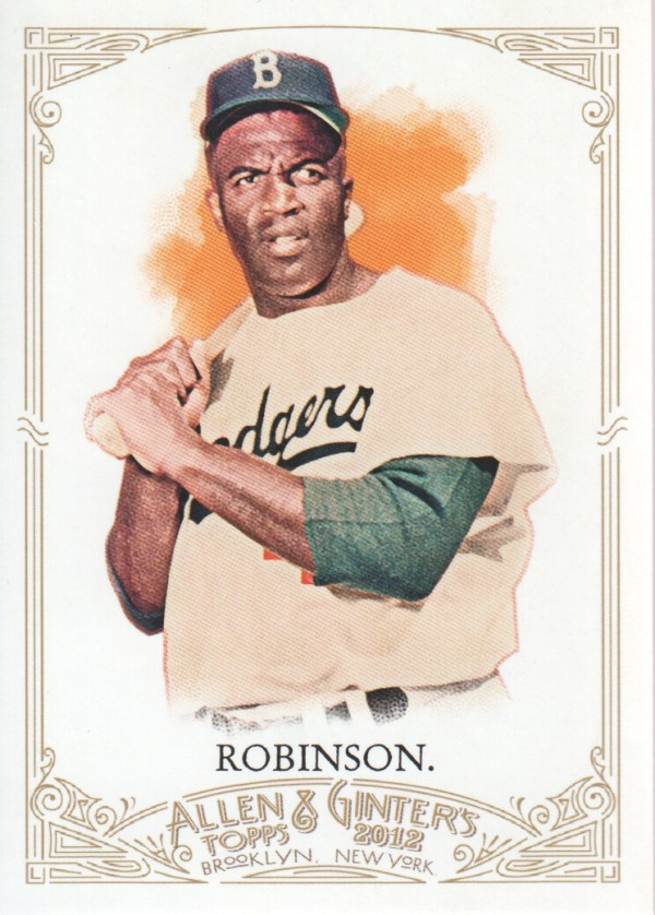 2012 Topps Allen and Ginter #31 Jackie Robinson