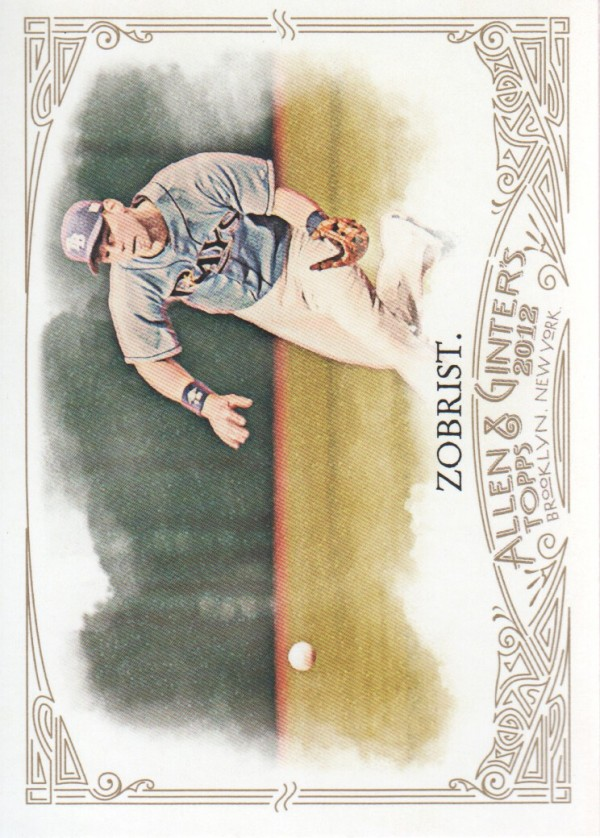 2012 Topps Allen and Ginter #32 Ben Zobrist