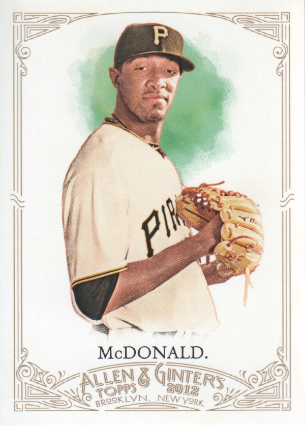 2012 Topps Allen and Ginter #37 James McDonald