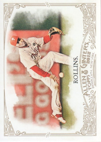 2012 Topps Allen and Ginter #40 Jimmy Rollins