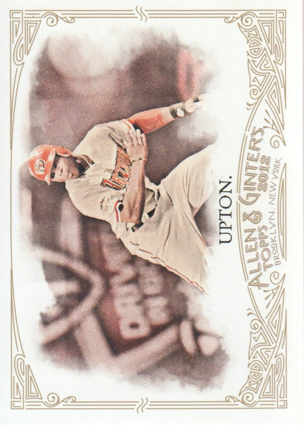 2012 Topps Allen and Ginter #42 Justin Upton