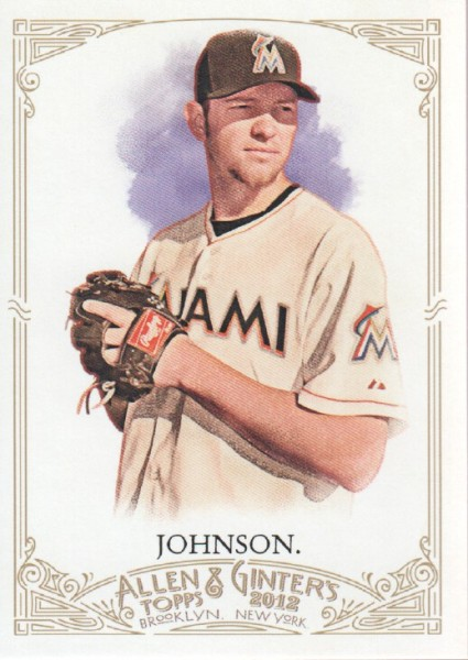 2012 Topps Allen and Ginter #43 Josh Johnson