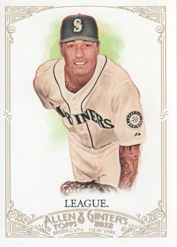 2012 Topps Allen and Ginter #44 Brandon League
