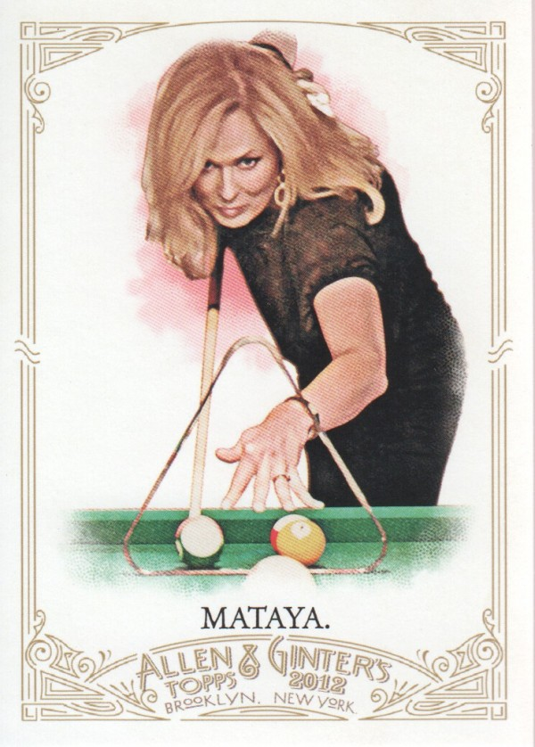 2012 Topps Allen and Ginter #45 Ewa Mataya