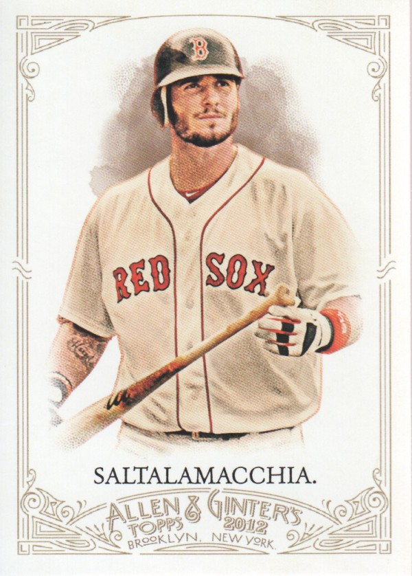 2012 Topps Allen and Ginter #46 Jarrod Saltalamacchia