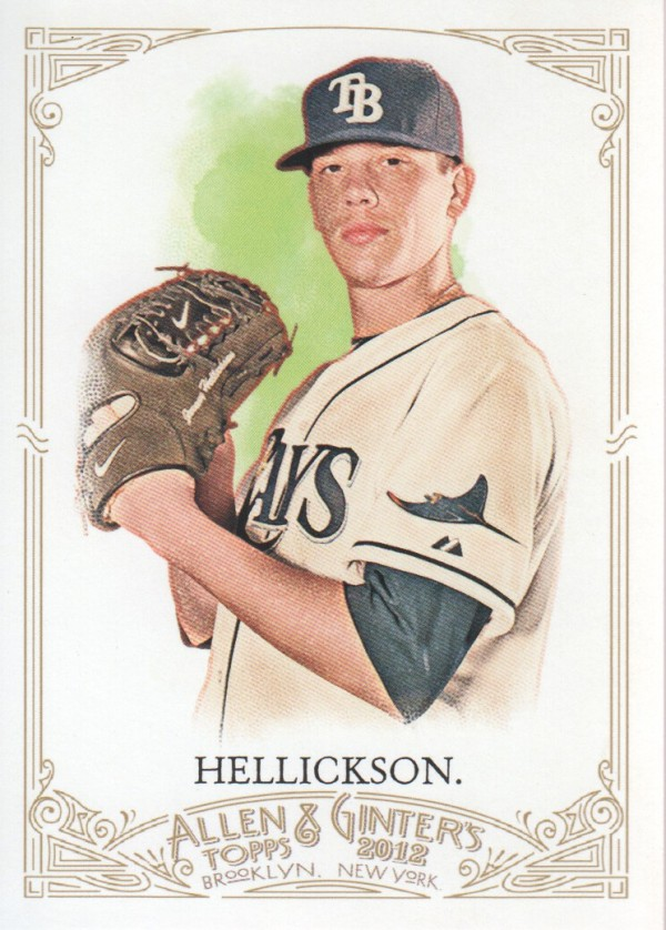 2012 Topps Allen and Ginter #49 Jeremy Hellickson
