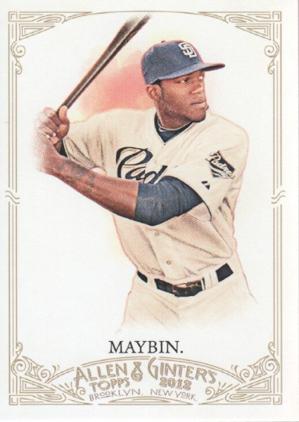 2012 Topps Allen and Ginter #52 Cameron Maybin