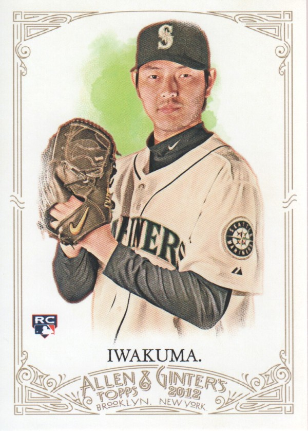 2012 Topps Allen and Ginter #53 Hisashi Iwakuma RC