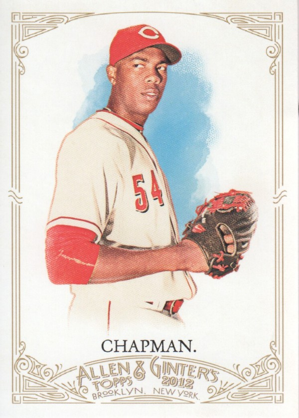 2012 Topps Allen and Ginter #70 Aroldis Chapman