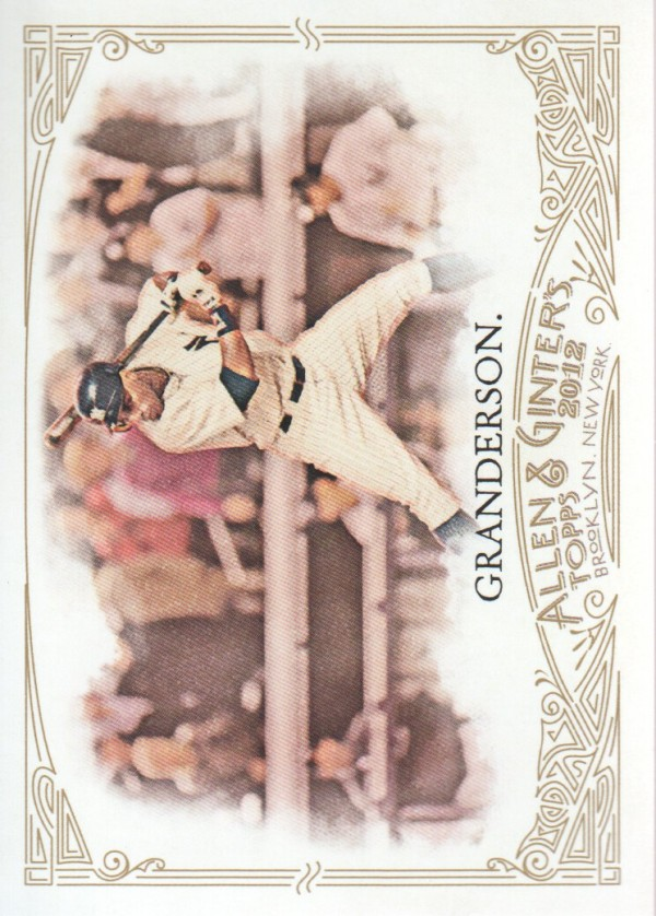 2012 Topps Allen and Ginter #71 Curtis Granderson