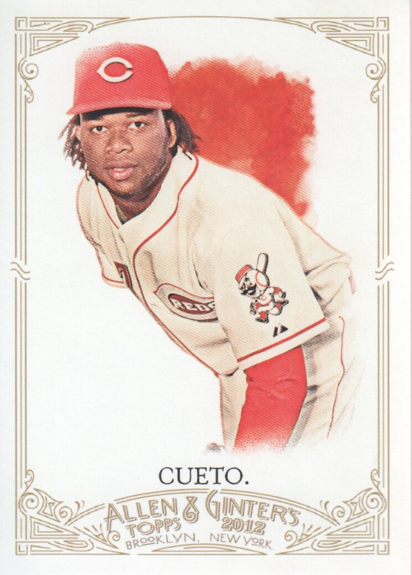 2012 Topps Allen and Ginter #74 Johnny Cueto