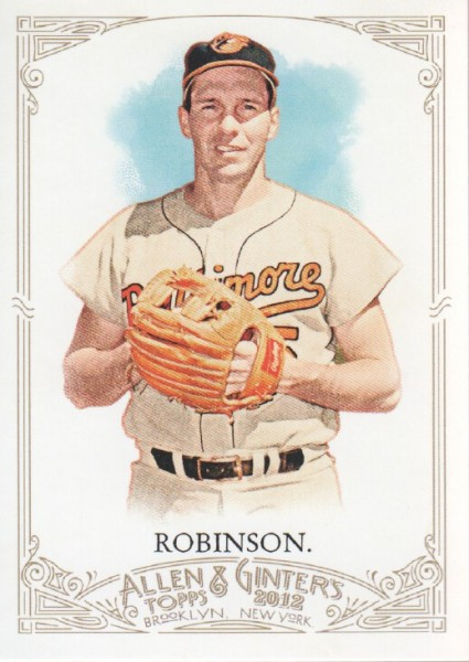 2012 Topps Allen and Ginter #80 Brooks Robinson