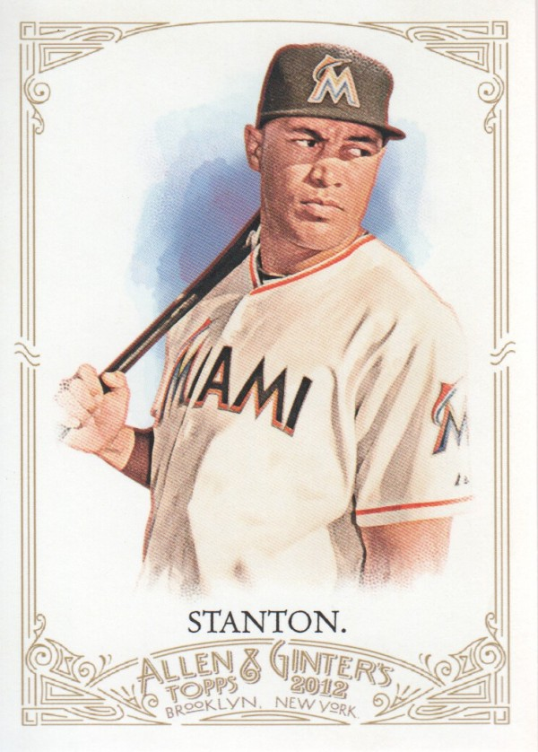 2012 Topps Allen and Ginter #82 Giancarlo Stanton