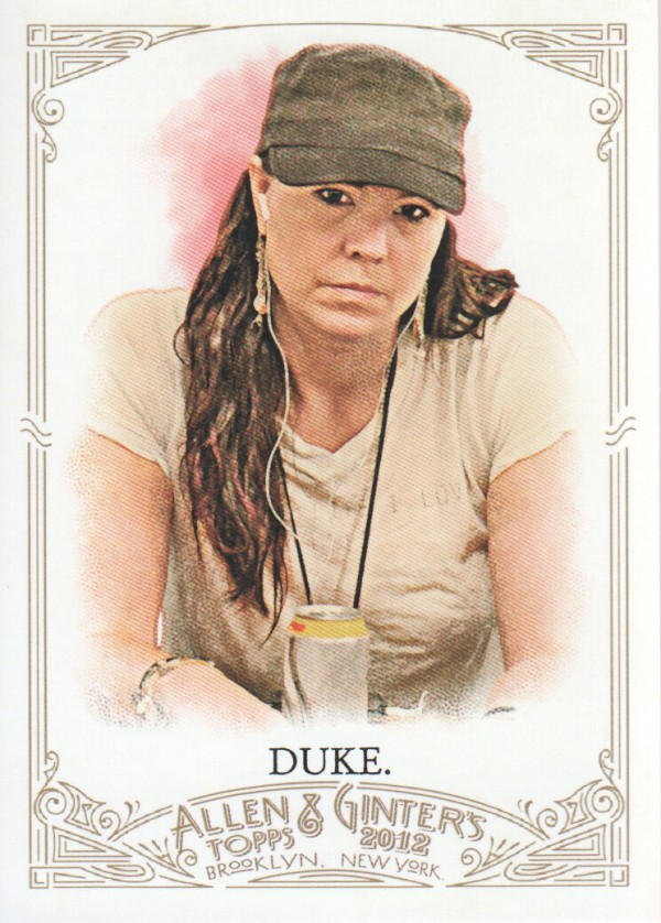 2012 Topps Allen and Ginter #87 Annie Duke