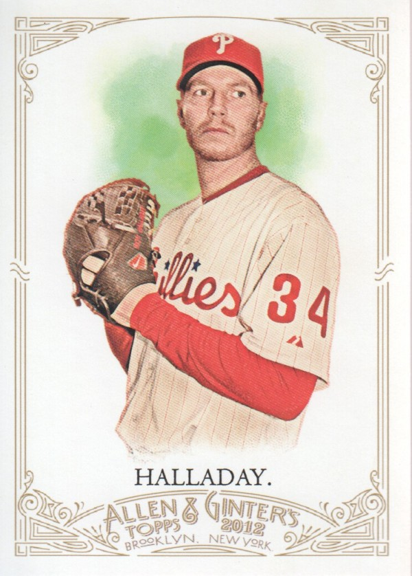 2012 Topps Allen and Ginter #90 Roy Halladay